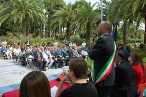 La cerimonia del 2 giugno 2013 in Palazzina Azzurra