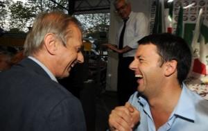 Piero Fassino e Matteo Renzi