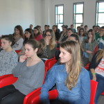 Gli studenti del liceo scientifico