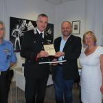 Il Capitano dei Carabinieri Pompeo Quagliozzi ricevuto in Municipio